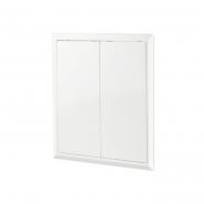 Дверь ревизионная пластиковая  Д2 400х400