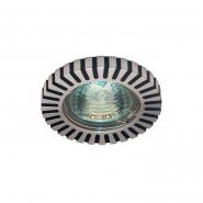 Светильник точечный MR-16 G5.3 50W блестящий черный/алюминий