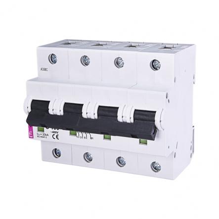 Автоматический выключатель ETI 3p+N C 100А (20 kA) 2136732 - 1