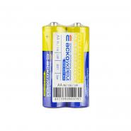 Батарейка солевая АА R6 (shrink 2) АСКО