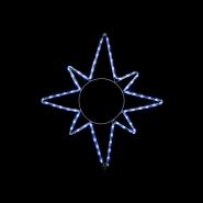 Гирлянда внеш_DELUX_MOTIF_Star 8 кон. 65*75см 8 flash белый IP44 EN