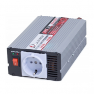 Инвертор IPS-600S  12-220В , 300Вт, защ.от корот.замык., унив.розетка (чистая синусоида) Luxeon