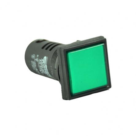 Сигнальная арматура АСКО-УКРЕМ AD22-22F АС 220В Зеленая - 1