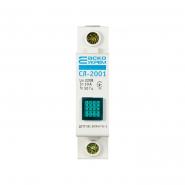 Светосигнальный индикатор АСКО-УКРЕМ СЛ-2001 зеленый неон