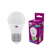 Лампа LED C37 8W PA10 E14 4000 ELM