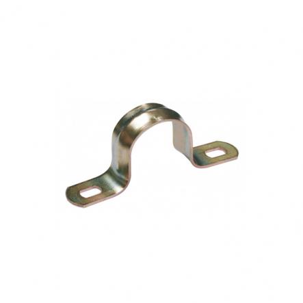 Скоба металлическая двухлапковая d19-20мм ИЕК - 1
