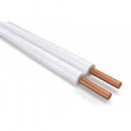 Провод установочный с медной жилой плоский ППВ 2х2,5 ОД