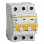 Автоматический выключатель IEK ВА47-29 3p 8A D