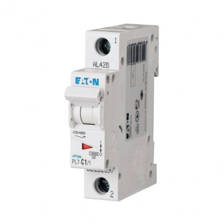 Автоматический выключатель 1п 1A PL7-C1/1 10kA EATON - 1