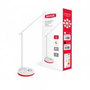 Настольная лампа MAXUS DL 10W 3CCT WH RGB