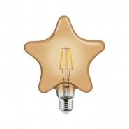 Лампа Filament Зірка 6W Е27 2200К/40