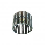 Светильник точечный черный хром JCD