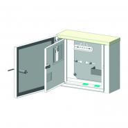 Ящик учета ЯУР-1Г-4 1ф  герметич.