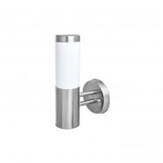 Светильник садово - парковый POLE 02 E27 нержавеющая сталь DELUX