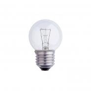 Лампа накаливания шарик Б 230-25-5 Е27 ИСКРА