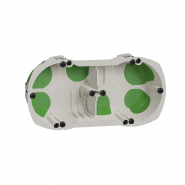 Коробка монтажная установочная Multifix Air 2-х местная г/к для деревяных домов/негорючая