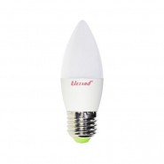Лампа  LED свеча B35 5W 2700K E27 220V Lezard