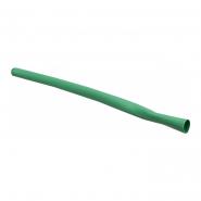 Трубка термоусажеваемая ТУТ 5,0/2,5 зелёная АСКО