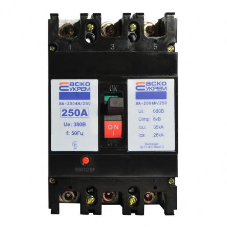 Автоматический выключатель ВА-2004N/250 3р 250А АСКО - 1
