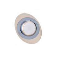 Светильник точечный DR39108R R39 220V хром матовый/золото