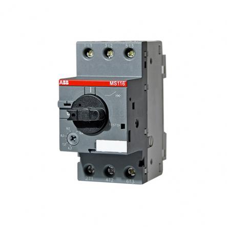 Автомат защиты двигателей MS116-0,4-0,63 ABB - 1