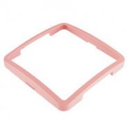 Рамка одинарная горизонтальная розовая DEFNE