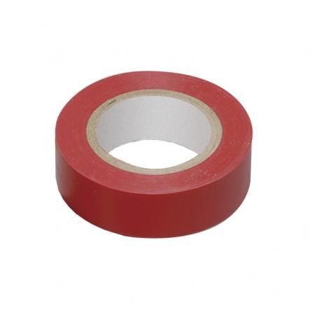 Изолента 0,13х15 мм красная 10 метров ИЕК - 1