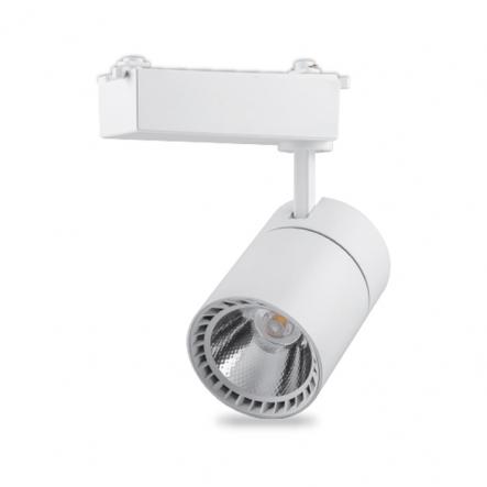 Светильник трековый AL103 COB 30W 2700LM 6500K IP40 белый 97*205*194 мм FERON - 1