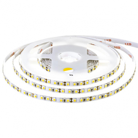 Светодиодная лента smd3528 AVT New-600WW3528-12 теплый белый IP20 120SMD 9,6W ( profi ) - 1