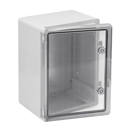 Корпус пластиковый ЩМПп 400х300х220мм прозрачная дверь УХЛ1 IP65 IEK - 1