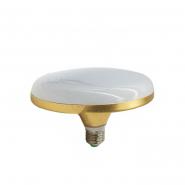 Лампа Lemanso светодиодная UFO 24W E27 1440LM золото  LM728