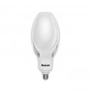 Лампа LED OLIVE 80w E27 6000K адаптер DELUX