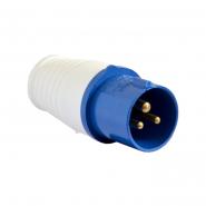 Вилка перен. ECOHOME ВП 16А/3 2P+PE (ECO-013) АСКО