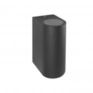 Светильник настенный DH015 230V без лампы MR16/GU10*2,  81*150*92 серый