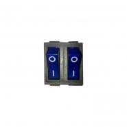Переключатель клавишный КП-53 220В с/с15А 6кон TAKEL