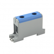 Клемма вводная силовая КВС 16-95 кв.мм. PE синий IEK