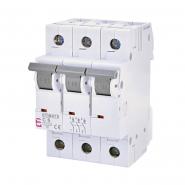 Автоматический выключатель ETI С 6A 3p 6кА 2145512