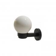 Светильник настенный шар опал гладкий Е-27, 915 15W 222*150*223mm АСКО