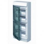 Щит настенный ABB Mistral 48 модулей прозрачная дверь IP65