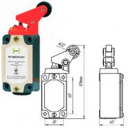 Выключатель концевой Промфактор ВП 15М 4236 рычаг с роликом нажатие сбоку
