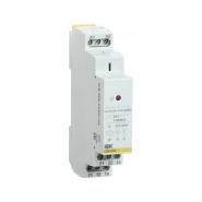 Промежуточное реле IEK OIR 2 конт (8А). 12 В AC / DC  Интерфейсное на Дин рейку OIR-208-ACDC12V