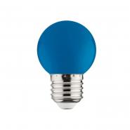 Лампа LED 1W E27 синяя 10/250 HOROZ