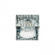 Светильник точечный Feron JD181  G9 35W прозрачный хром