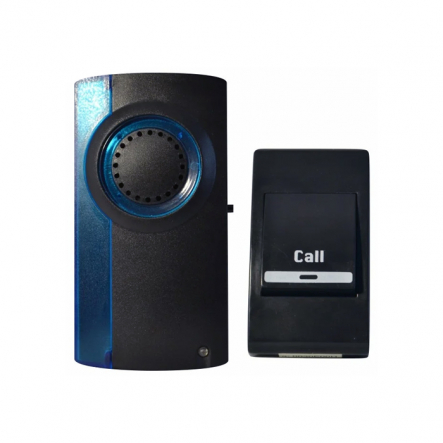 Дзвінок RIGHT HAUSEN 12V чорний HN-072092 (60шт) NEW - 1