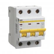 Автоматический выключатель IEK ВА47-29М 3p 16A С
