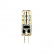 Лампа светодиодная LB-420 AC/DC 12v 2w 24leds G4 4000K 160lm Feron