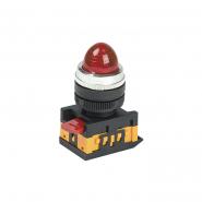 Светосигнальный индикатор IEK AL-22 d22мм красная неон 240В цил.