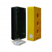 Корпус поста управления HJ9-3 (3месный) желтый Аско-Укрем