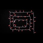 Гирлянда внеш_DELUX_STRING_100LED 10m (2*5m) 20 flash красн/бел IP44 EN
