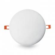 Светильник светлодиодная кругла - 9Вт 6400К 855 люмен (100) с лапками